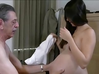 Grandpa fucks pregnant granddaughter xincestporn.com