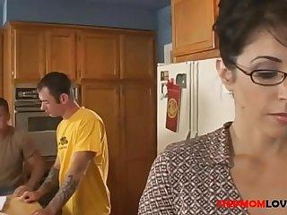 Stepmom Seduces Stepson 24