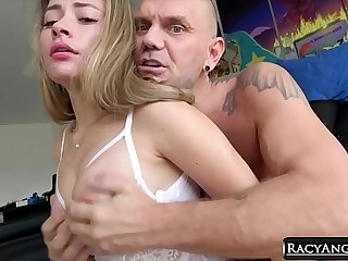 Natural Busty Colombian Teen Gets Cock Crazy With Older Director Nacho Vidal