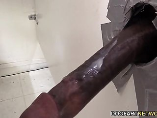 Summer Carter Looks For A Black Cock At A Glory Hole