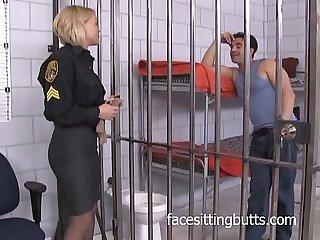 Super horny police officer gets fucked hard