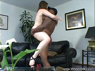 A Huge Black Cock Came To Fuck Me