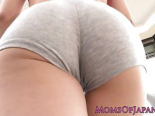 Japanese milf anal strapon fucked by lezzies