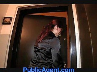 PublicAgent This sexy estate agent is a porn loving sex kitten.