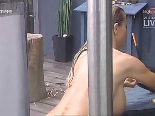 Big Brother aninna bettie outdoor shower
