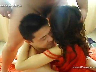 chinese woman 3P homemde