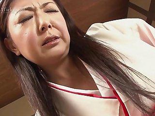 41Ticket - Fucking Mature Priestess Ayano Murasaki (Uncensored JAV)