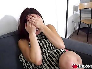 Step bro fucking Mandy Muse doggystyle as her ass is shaking